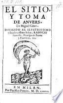 El sitio, y toma de Anvers