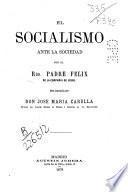 El socialismo ante la sociedad