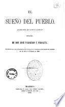 El sueno del pueblo alegoria en dos cuadros original de don Jose Ferreiro y Peralta