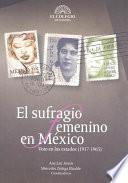 El sufragio femenino en México