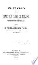 El teatro del maestro Tirso de Molina
