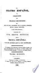 El teatro español