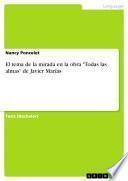 El tema de la mirada en la obra Todas las almas de Javier Marías