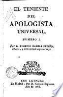 El teniente del Apologista universal