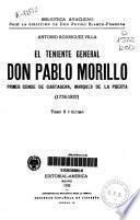 El Teniente General Don Pablo Morillo