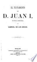 El testamento de D. Juan I