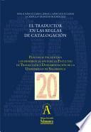 El traductor en las reglas de catalogación