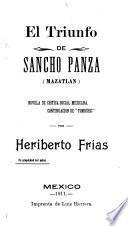 El triunfo de Sancho Panza (Mazatlán)