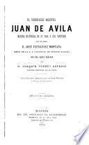 El venerable maestro Juan de Avila