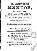 El Verdadero mentor, ó, Educacion de la nobleza