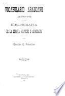El vocabulario araucano de 1642-1643