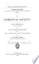 El yacimiento de Rafaelita de Auca-Mahuida (Territorio del Neuquen) ...