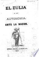 El Zulia y su autonomía ante la nación