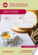 Elaboración de productos de panadería. INAF0108