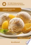 Elaboración y presentación de helados. HOTR0509