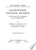 Elementary Spanish reader