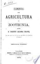 Elementos de agricultura y zootecnia
