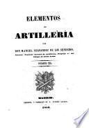 Elementos de artillería
