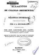 Elementos de cálculo diferencial y de cálculo integral