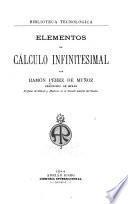 Elementos de cálculo infinitesimal