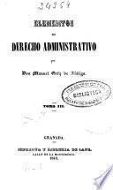 Elementos de derecho administrativo: (1843)