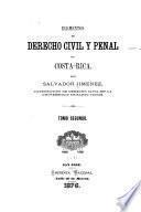 Elementos de derecho civil y penal de Costa Rica