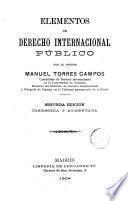 Elementos de Derecho internacional publico