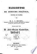 Elementos de derecho político