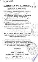 Elementos de farmacia teórica y práctica...