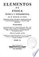 Elementos de física teórica y experimental de M. Sigaud de la Fond ...