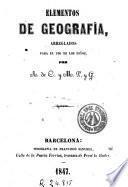 Elementos de geografía