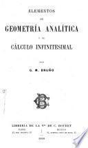 Elementos de geometría analítica y de cálculo infinitesemal