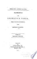 Elementos de gramatica parda