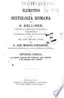 Elementos de histología humana