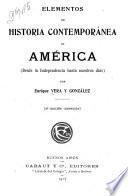 Elementos de historia contemporánea de América