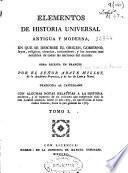 Elementos de historia universal antigua y moderna