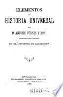 Elementos de historia universal