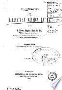 Elementos de literatura clásica latina
