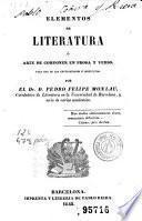 Elementos de literatura, ó, Arte de componer en prosa y verso