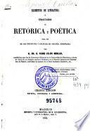 Elementos de literatura, ó, Tratado de retórica y poética