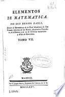 Elementos de matemáticas ...