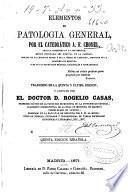 Elementos de patologia general