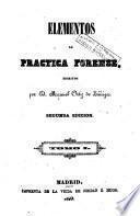 Elementos de practica forense