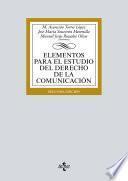 Elementos para el estudio del Derecho de la comunicación