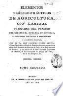 Elementos teórico-prácticos de agricultura, con láminas