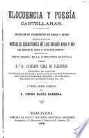 Elocuencia y poesia castellanas