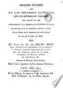 Elogio funebre del coronel don Pablo Miralles que en la traslacion y colocacion de sus honorables restos en el elegante panteon que, con permiso real de 16 de junio de 1826, le ha erigido su hijo el teniente coronel D. José Miralles ...
