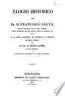 Elogio histórico de Francisco Salvá
