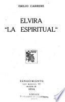 Elvira, la espiritual
