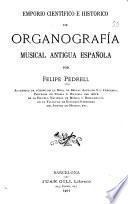Emporio científico é histórico de organografía musical antigua española